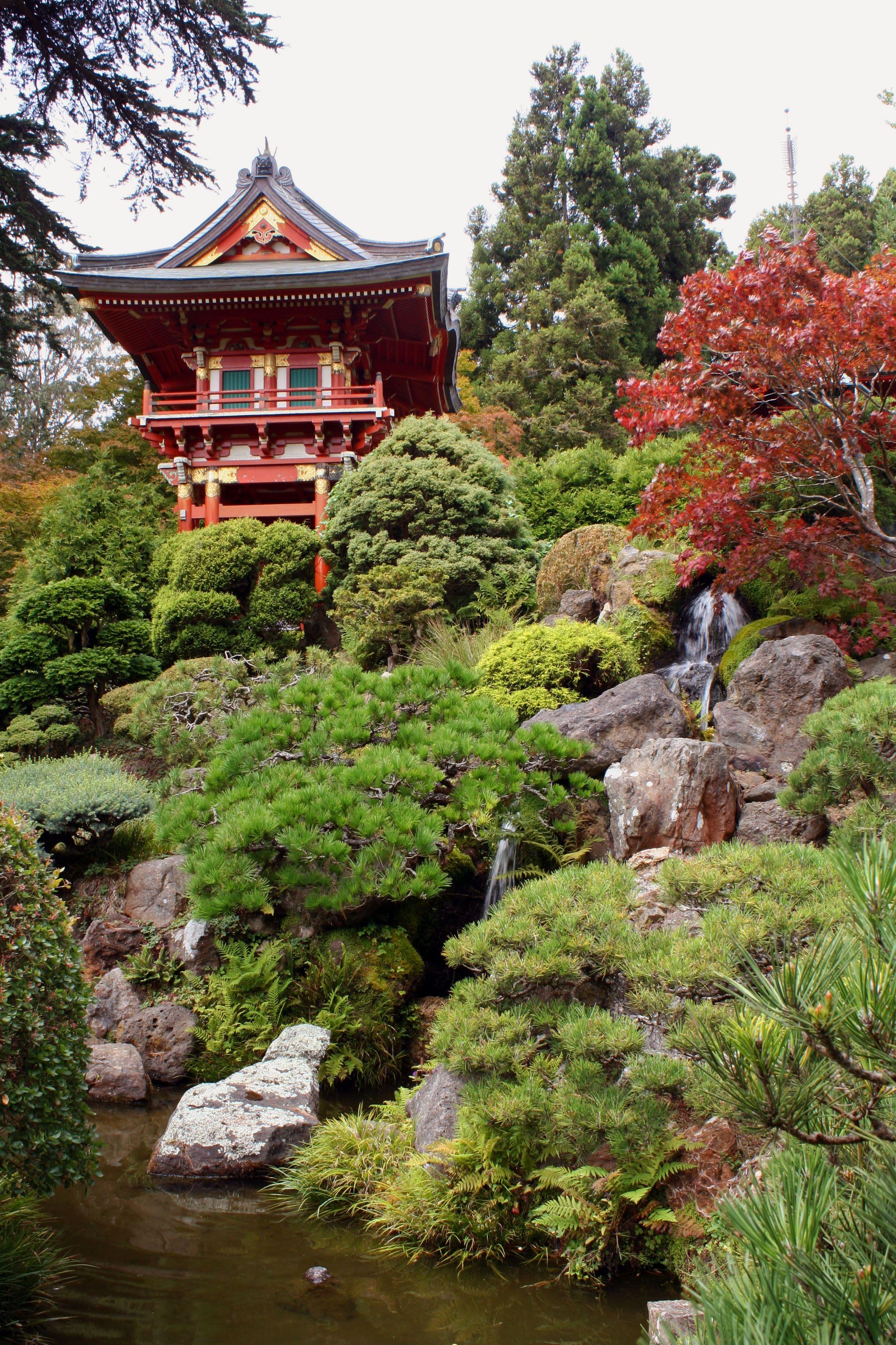 Japanese Tea Garden Golden Gate Park Golden Gate Park San