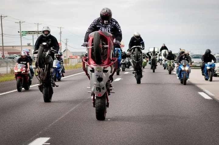 Wheelies Stunt Bike
