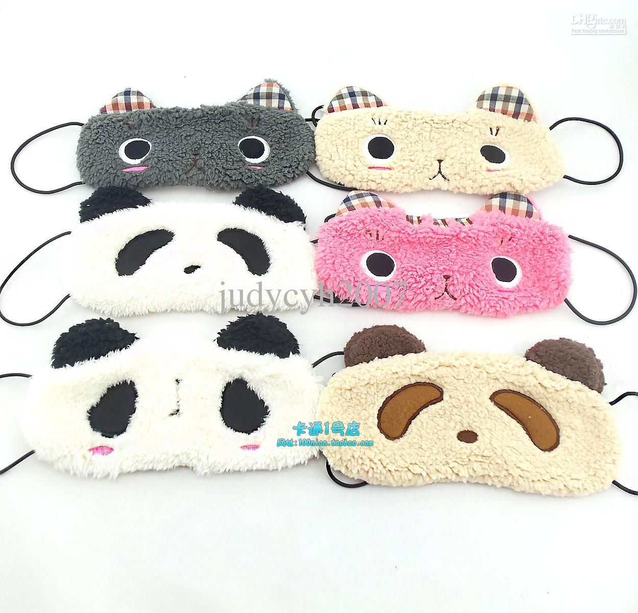 e3142b45671 cute animal sleeping eye masks