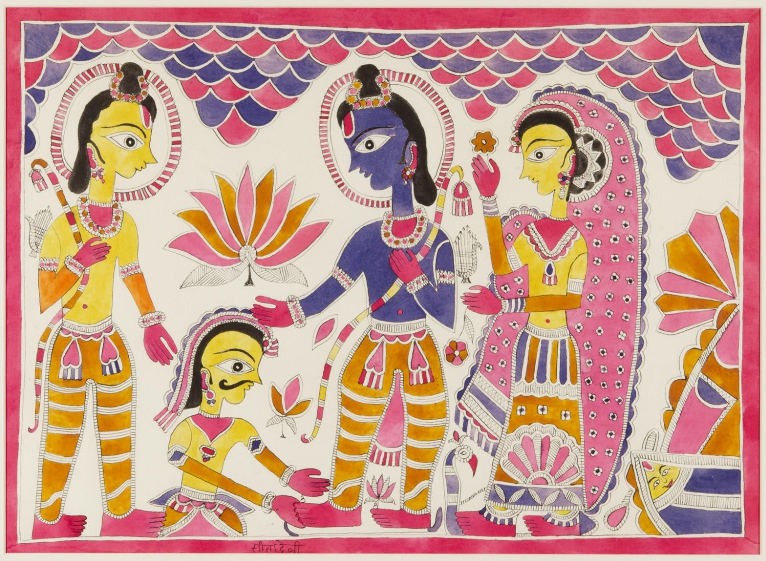 Image result for sita devi madhubani painting