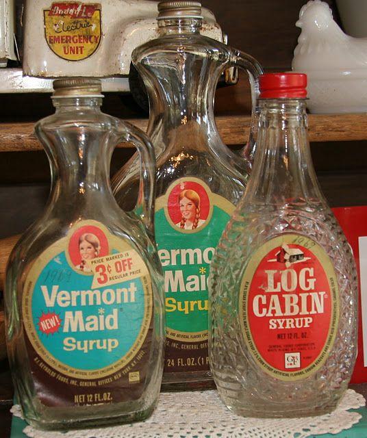 Old Syrup Bottles Farmers Market Display Syrup Bottle Vintage Recipes
