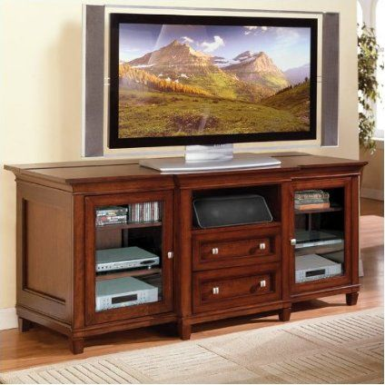 Kathy Ireland Home By Martin Furniture Bradley Wood Plasma Tv