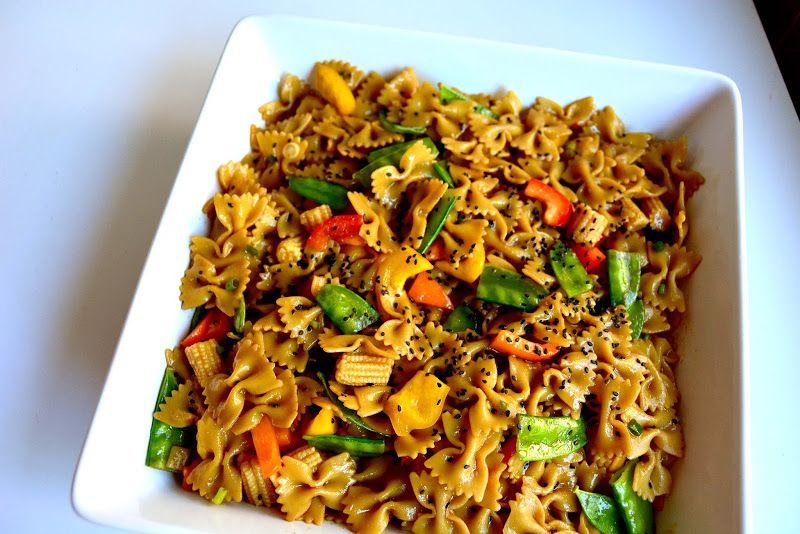 asian macaroni salad recipe