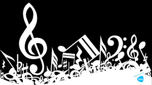 White Music Background Wallpaper Hd Music Notes Music Backgrounds Marching Band Quotes