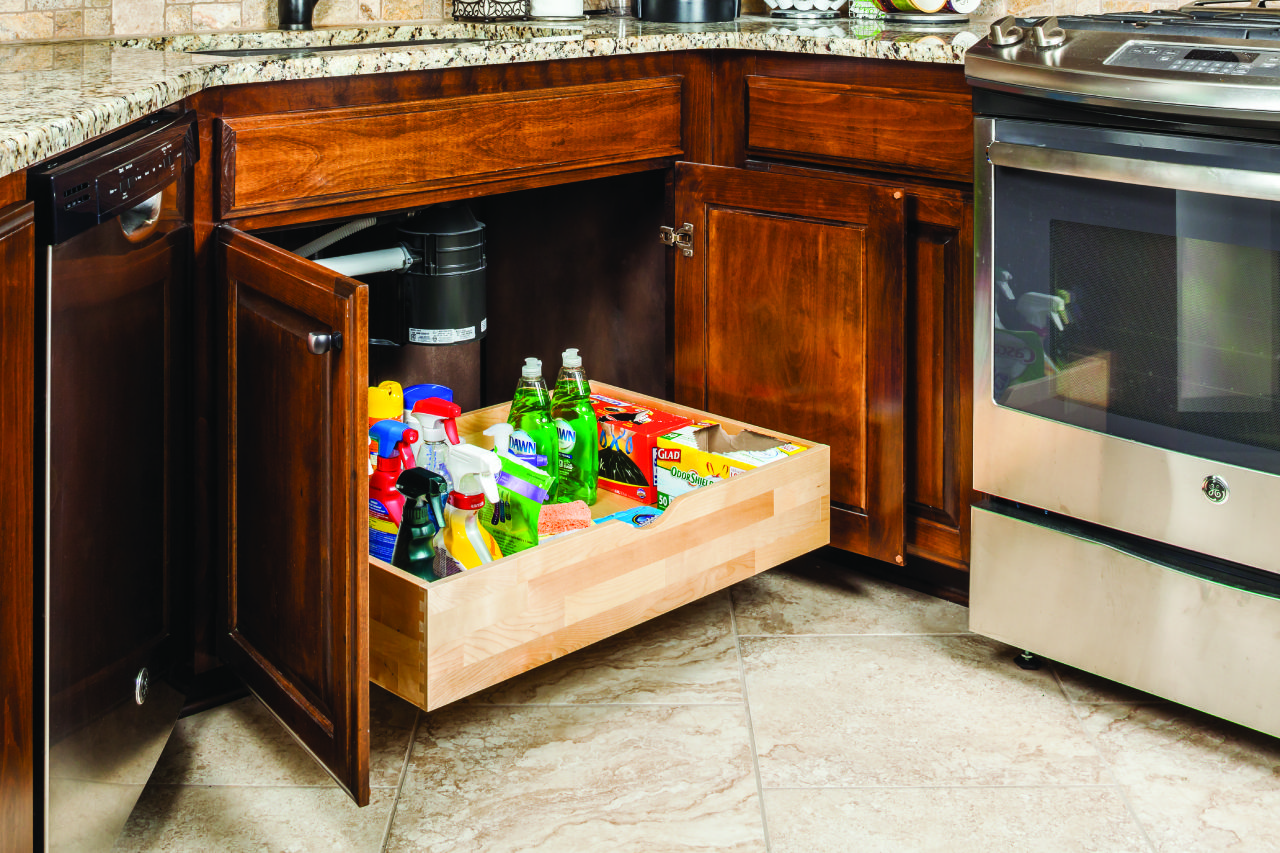 Preassembled Rollout Shelf System For 33 Cabinet Openings Featuring 21 Undermount Soft Closing Drawer Kitchen Cabinets Cabinet Detailing Hardware Resources