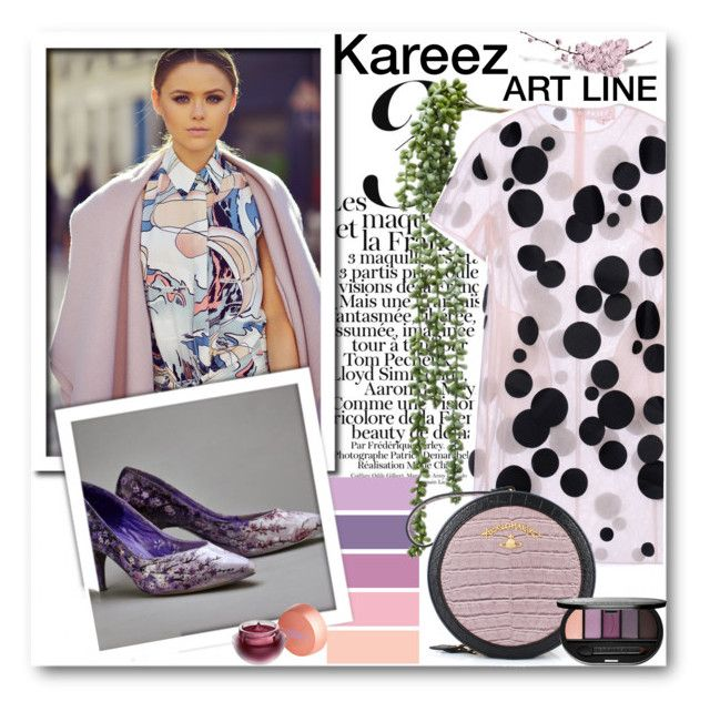 """Kareez ART LINE 4"" by fashionmonsters ❤ liked on Polyvore featuring Paskal, Vivienne Westwood, Lipstick Queen and Sephora Collection"