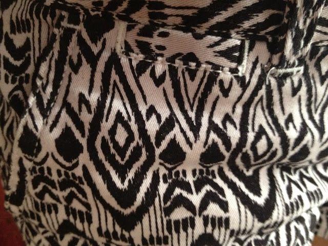 tribal print shorts.