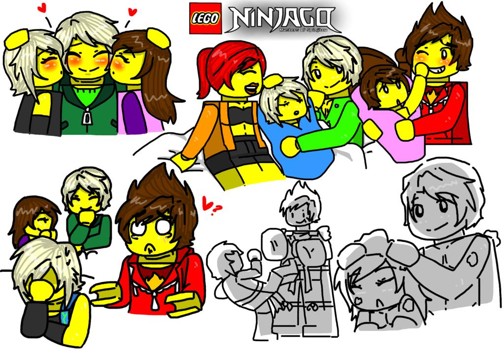 Lego ninjago ocs 38 by maylovesakidah on deviantart ninjago pinterest lego ninjago - Ninjago lloyd and kai ...