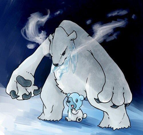beartic y cubchoo