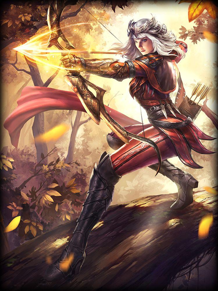 Artemis_Convention_Card | Artemis, Fantasy characters ...