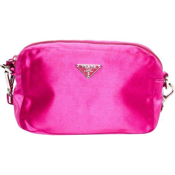 Pre-owned - Silk clutch bag Prada CTiXNWqZ0M