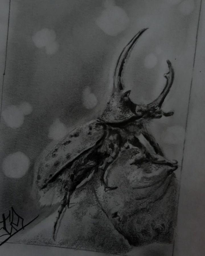 Escarabajo rinoceronte  3hrs duración . . . #escarabajo #escarabajorinoceronte #beatles #followme #picoftheday #instagood #instagram #good #lima #peru #perutattoo #miraflores #tatuaje #art #dibujo #travel #drawing #draw #love