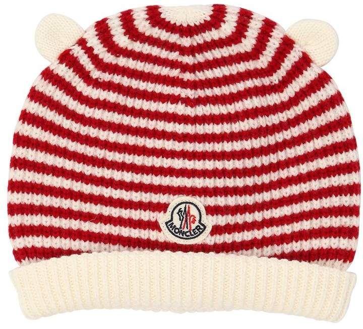 598acb21c73658 Ears Wool Knit Beanie #edges#Front#logo | Girls' Jackets Free ...