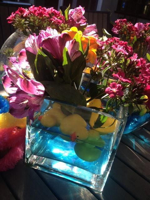 Lucky Duck Luau Centerpiece