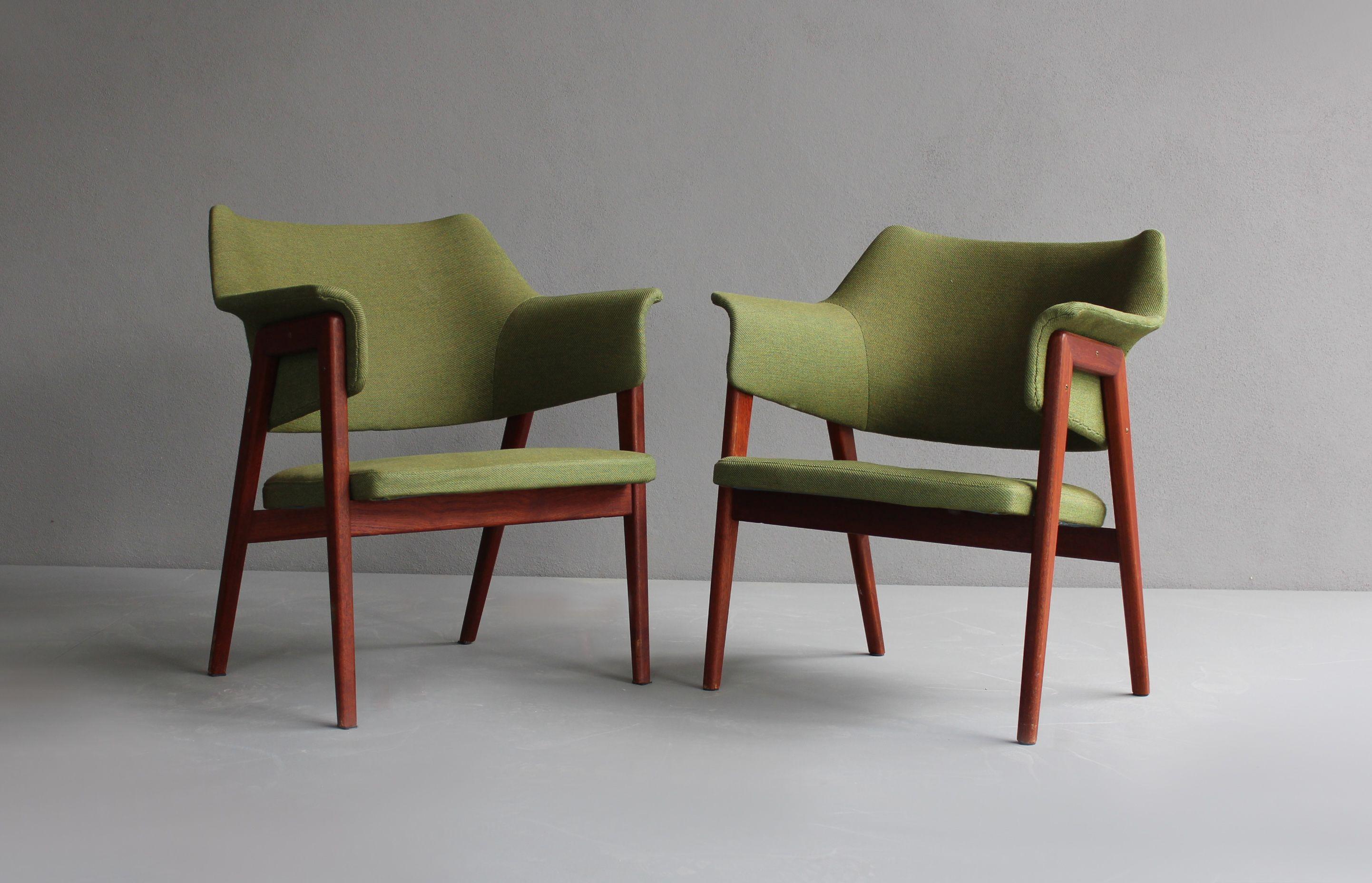 teak armchair by karl erik ekselius for joc 1960. Black Bedroom Furniture Sets. Home Design Ideas