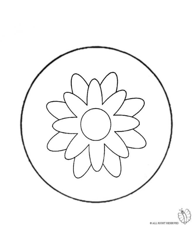 Disegno Mandala 4 Disegni Da Colorare E Stampare Gratis Per