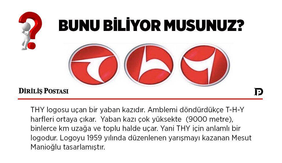 Turk Hava Yollari Nin Logosuna Dair Bilgi Thy Yaban Kazlari Logolar Bilgi Harf