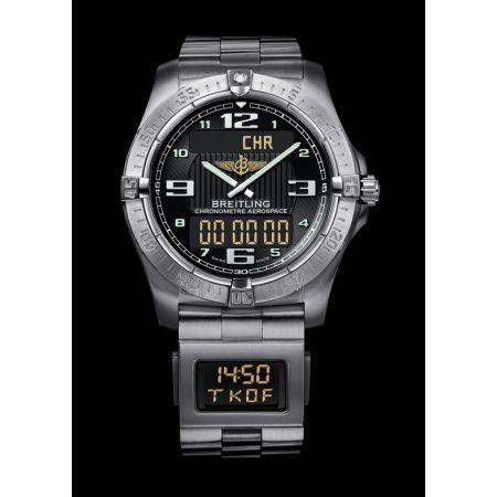 http://www.horloger-paris.com/fr/2771-breitling   Breitling Aerospace Titane La très ergonomique montre Breitling Aerospace propose une ligne faite en titane, du plus bel éclat. Les dimensions rondes de ce superbe...