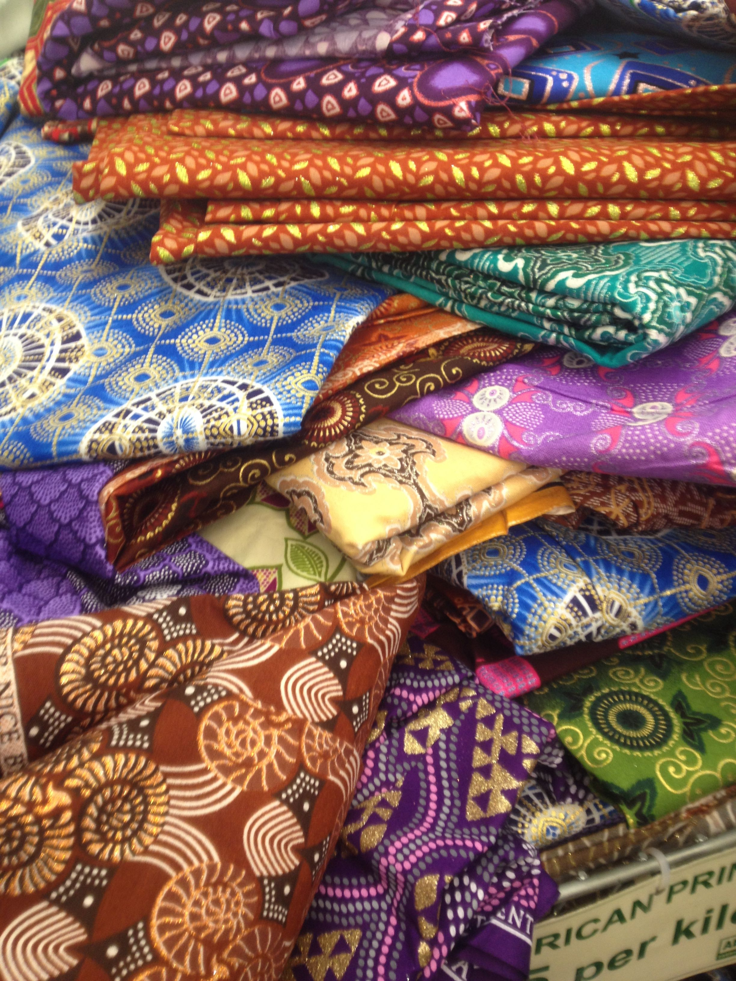 Sourcing Fabrics - Indian colours with geometric prints