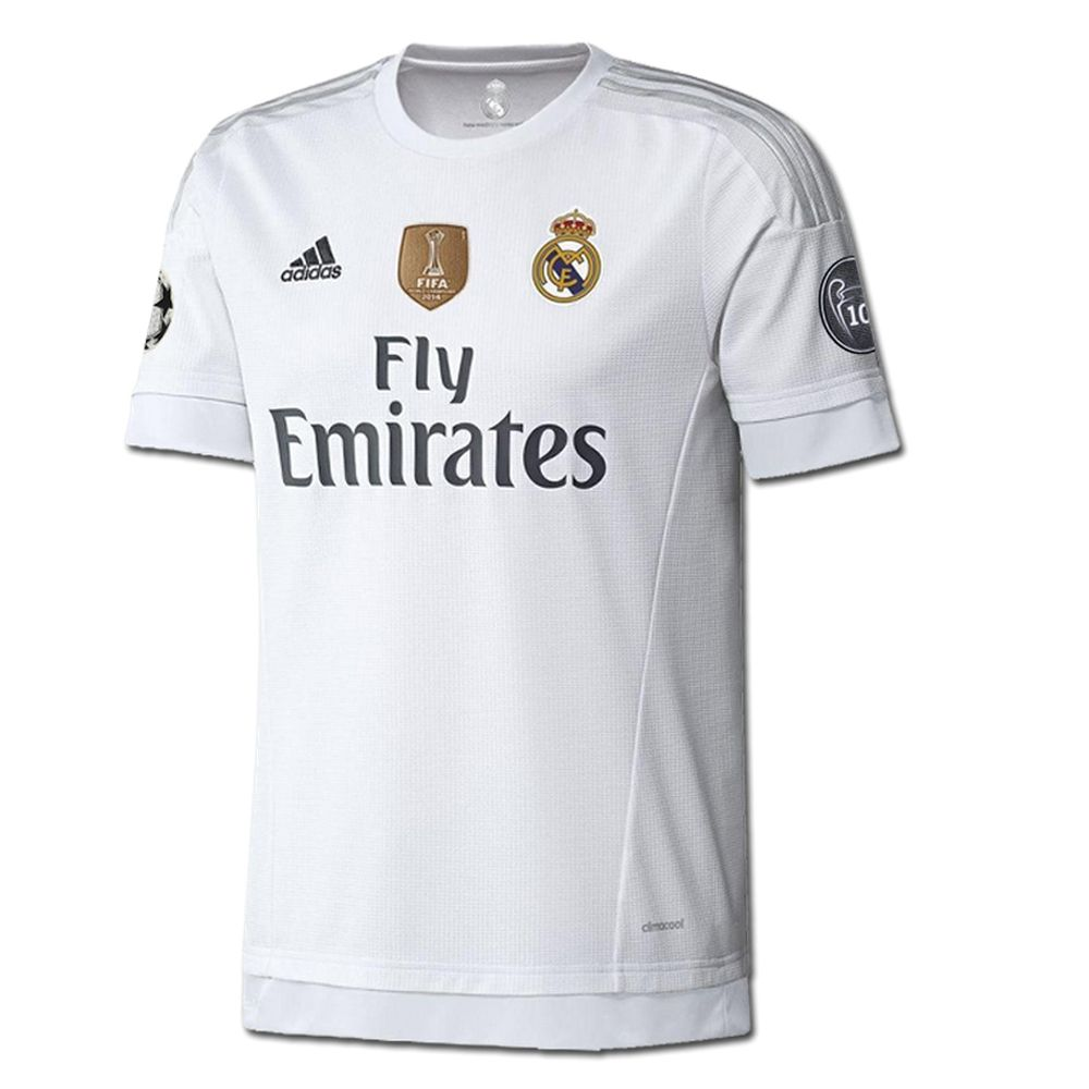 94abb2d8dee Showcase your love for Real Madrid with the 2015-16 Champions League  jersey. This