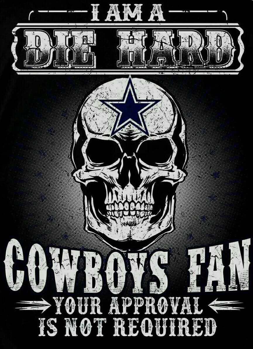 Die Hard Cowboys Fan Dallas cowboys funny, Dallas