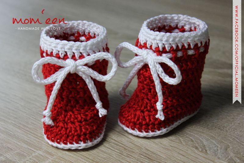 Babystiefel Santa Mit Kordel Für Neugeborene 0 3 Monate Größe