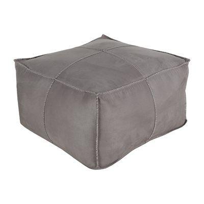 Surya Obsidian Cube Pouf