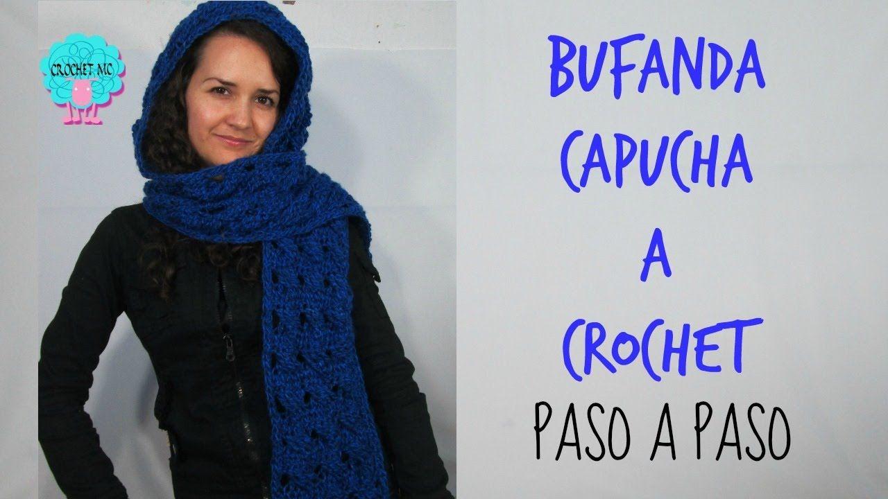 Contemporáneo Bufanda Del Ganchillo Con Capucha Patrón Libre ...