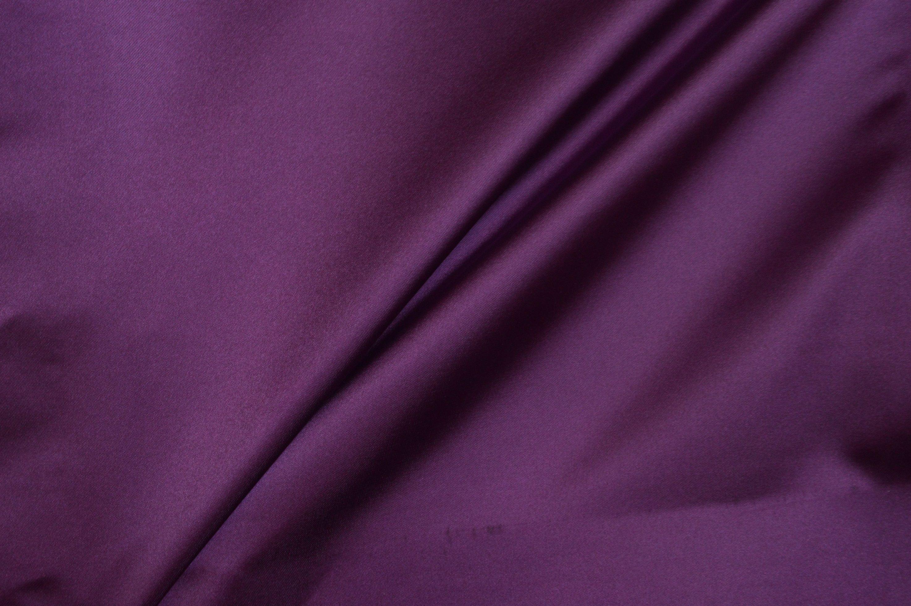 silky plain purple curtain fabric