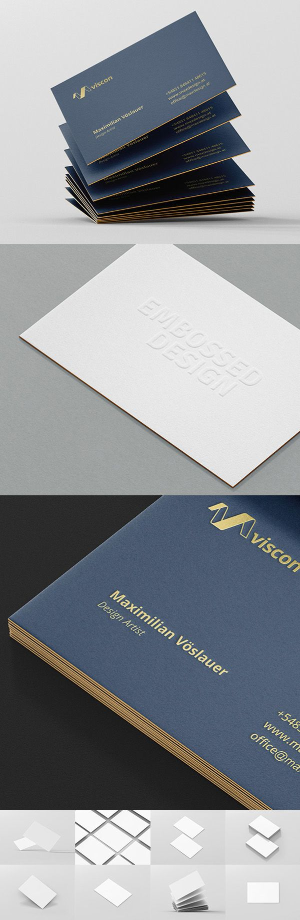 Photorealistic Mockups of Business Cards psd mockups, product ...