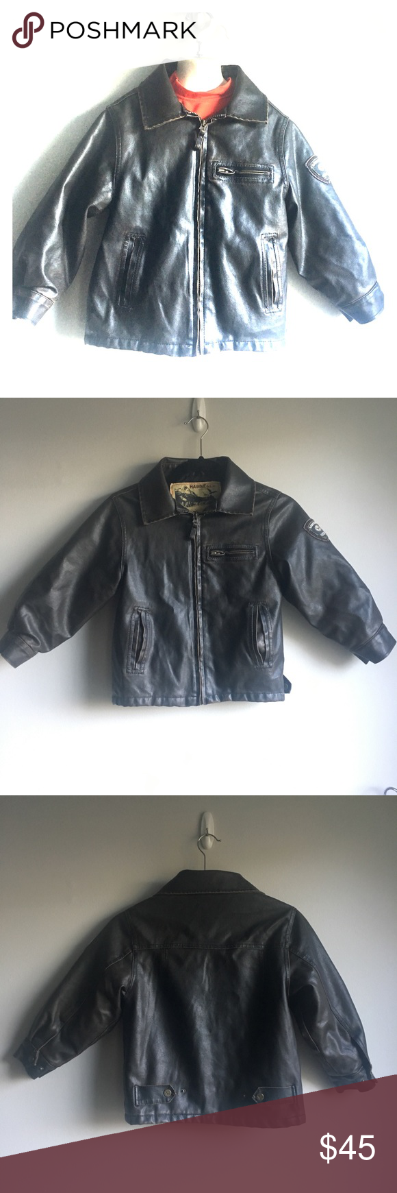Boys Faux Leather Bomber Jacket With Aviator Hat Faux Leather Bomber Leather Bomber Jacket Faux Leather Bomber Jacket [ 1740 x 580 Pixel ]