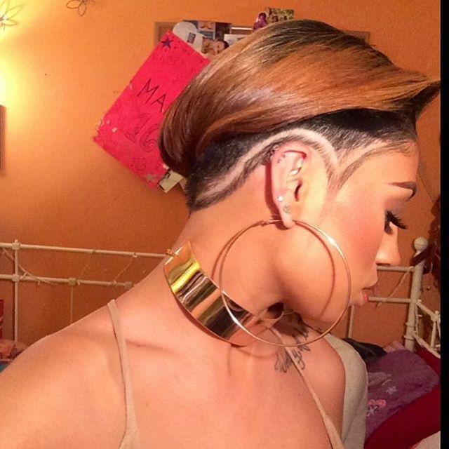 Dope! @amandizzllee ❤️| #thecutlife #shorthair #hairdesign #edgyhair #style #stunner ✂️