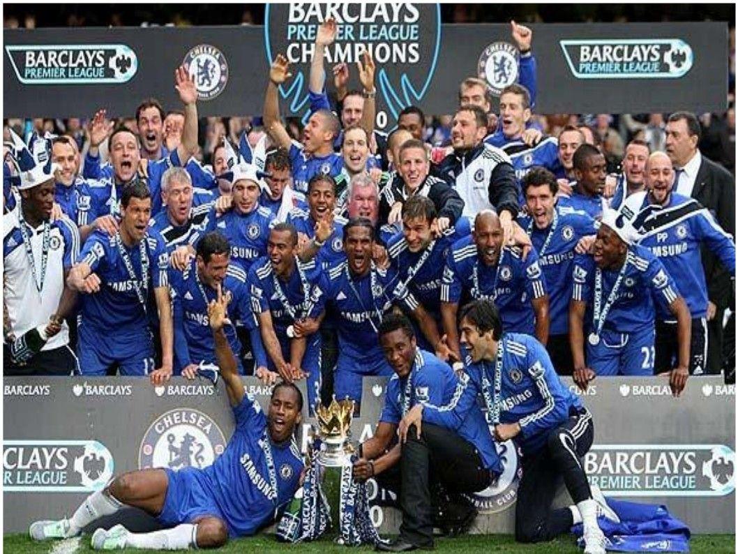 Chelsea Fc Champions League Winners Wallpaper