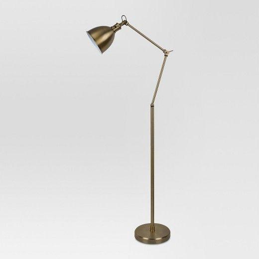 Threshold Industrial Brass Task Floor Lamp Target Brass Floor Lamp Task Floor Lamp Lamp