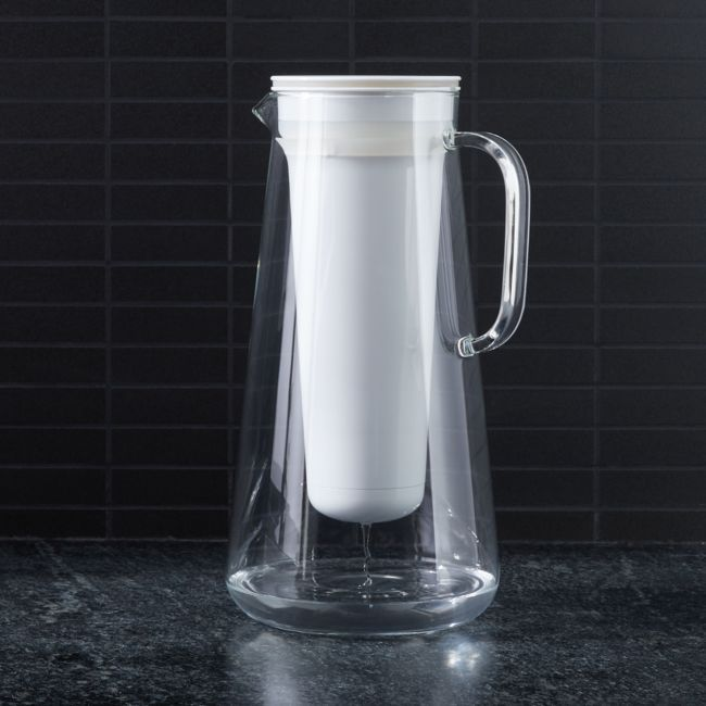 Lifestraw 7 Cup Glass Water Filter Pitcher Water Filter Pitcher