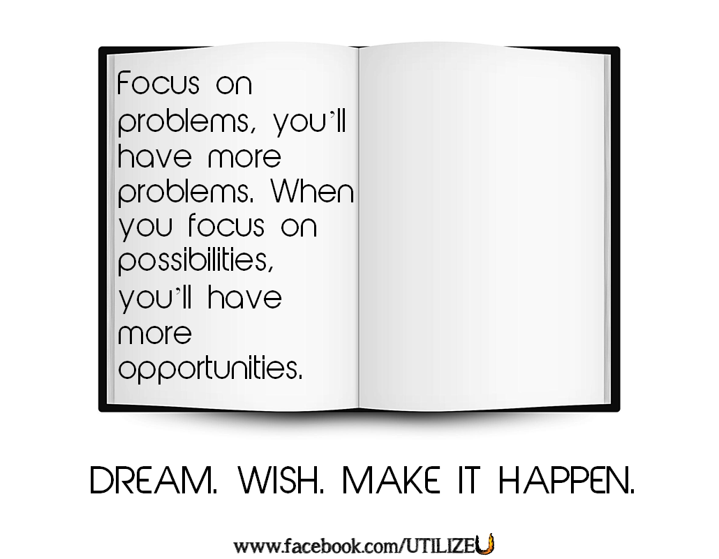 Make it Happen. www.facebook.com/utilizeu