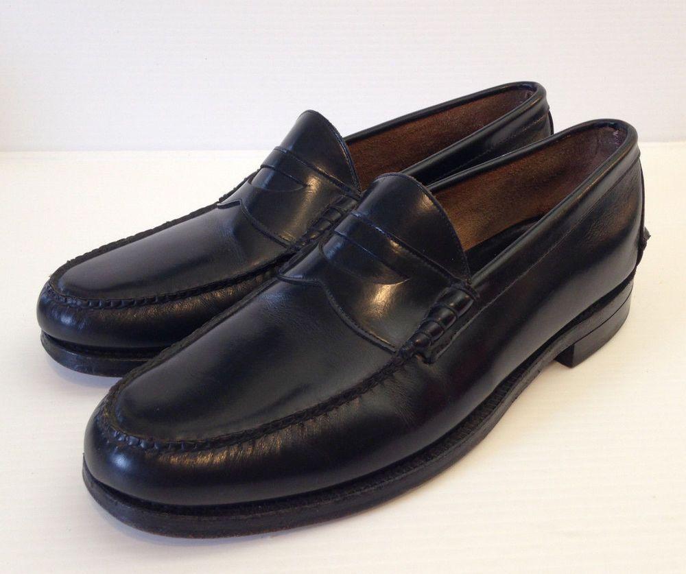 7b9a1a66766 JOHNSTON   MURPHY ARISTOCRAFT Men s Black Leather Penny Loafers Shoes Size  11  JohnstonMurphy  LoafersSlipOns  Weartowork