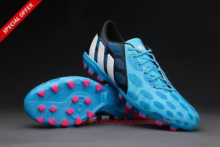 Uomo Battle Pack Adidas Predator Blu / Nero / Bianco Istinto Ag Di Tennis