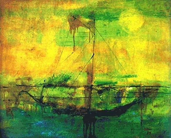 Aliran Senirupa Di Indonesia Seni Rupa Lukisan Asia Ekspresionisme Abstrak Impresionisme