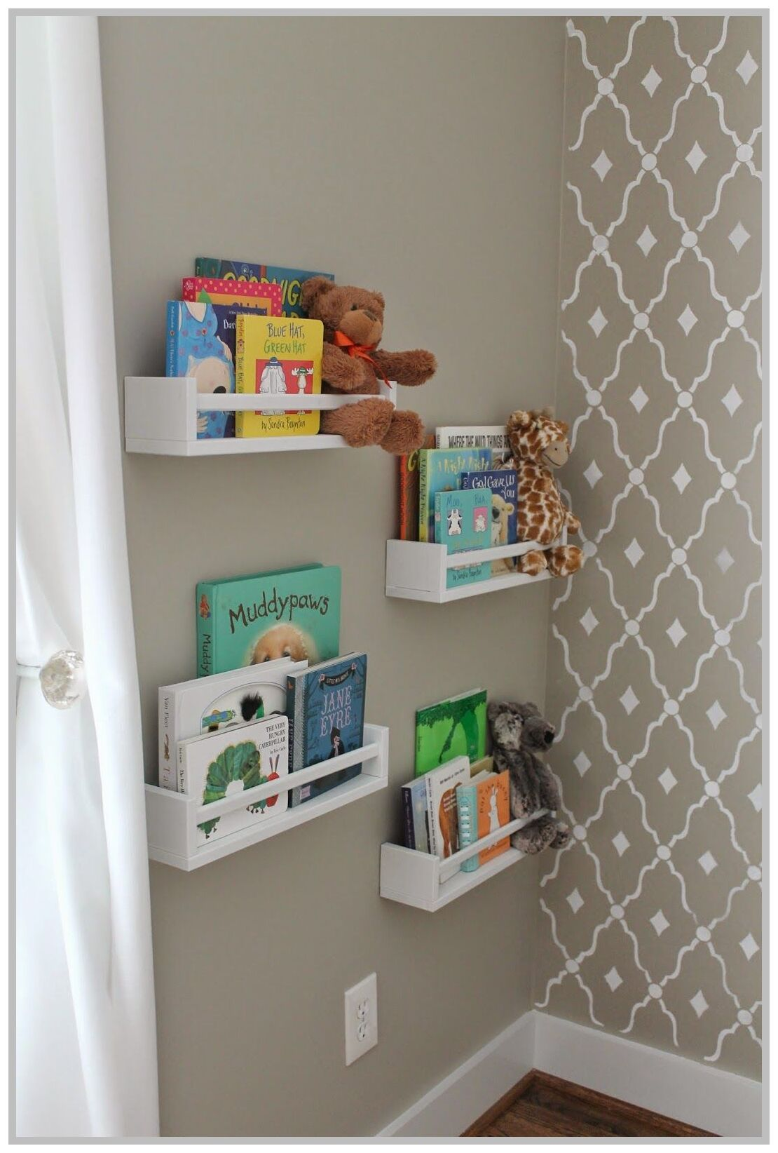 48 Reference Of Nursery Bookshelf Diy In 2020 Ikea Furniture Hacks Ikea Wall Storage Wall Bookshelves