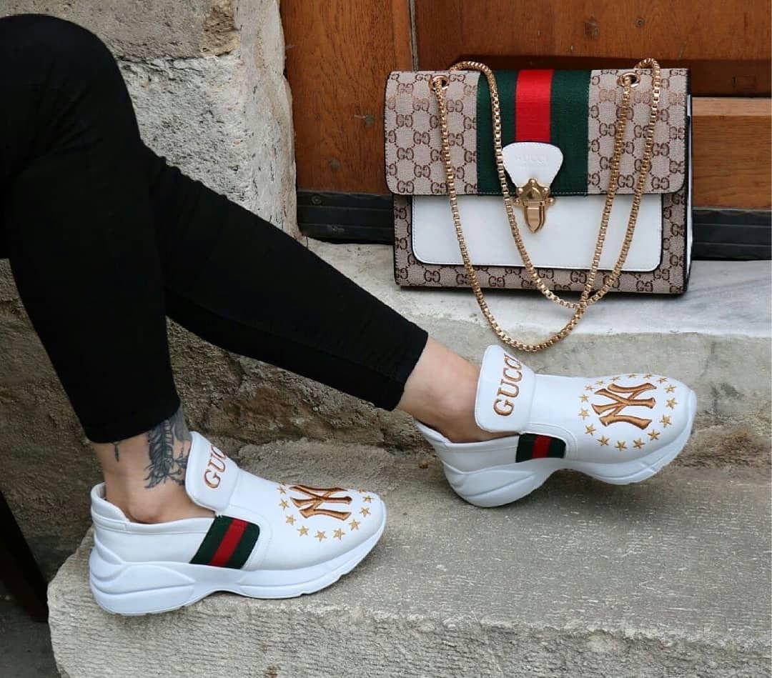 Gucci shoes, Gucci fashion, Shoe boots