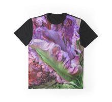 Wild Tulip Graphic T-Shirt featuring the art of Carol Cavalaris.