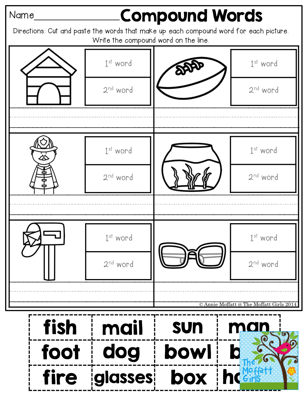 Compound Words And So Many More Fun Activities