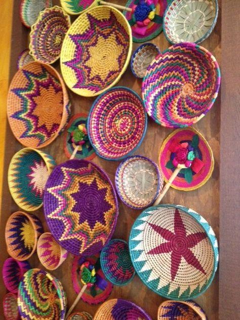 Canastos Mexicanos Crafts Mexican Home Decor Mexican