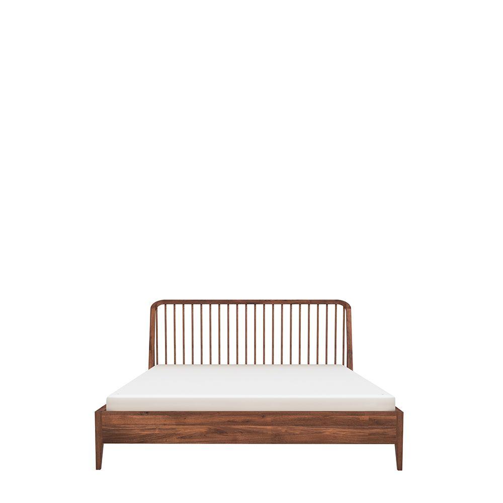 Walnut Spindle Bed Spindle Bed Bed Without Slats Bedding Inspiration