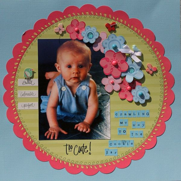 TOO CUTE - 1 photo  -  A Project by Ree Ree from our Scrapbooking Gallery originally submitted 09/19/11 at 06:14 AM