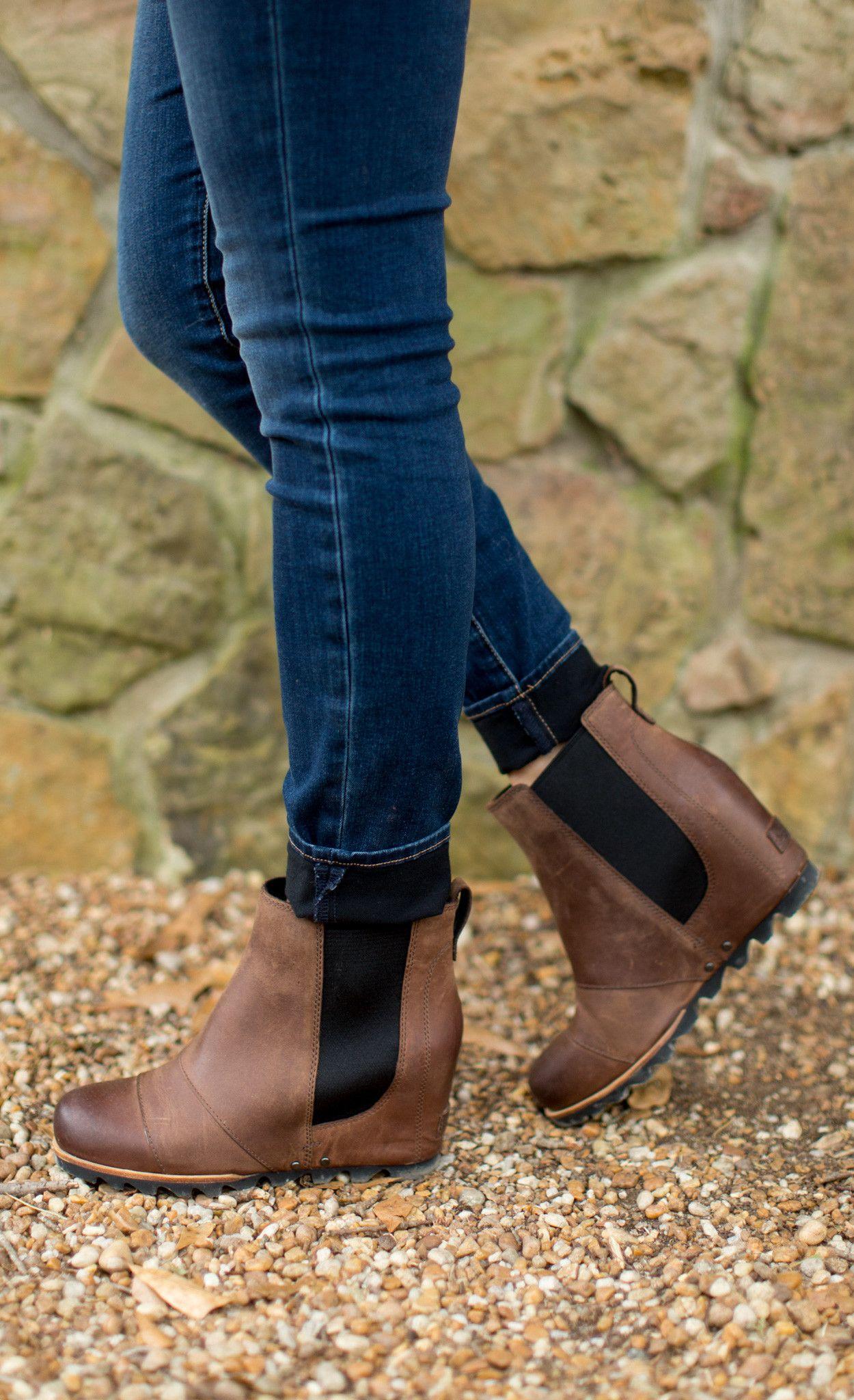 ba0431c7e6a4 Sorel - Boots - SOREL Lea Wedge Boot - Cheeky Peach Boutique - 6 ...