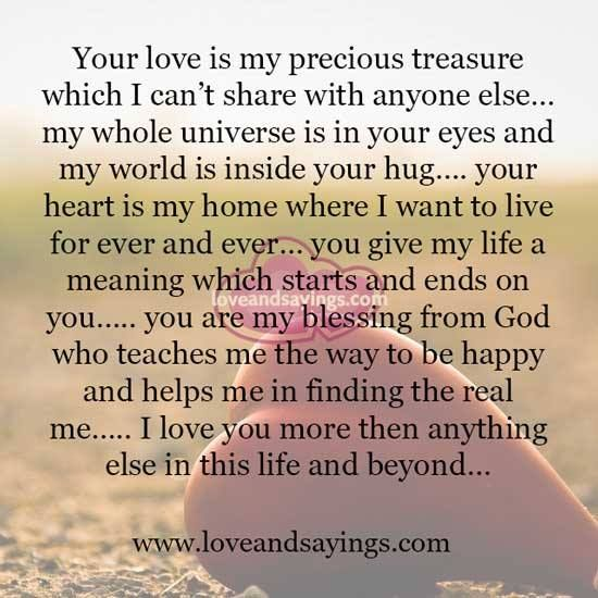 Your Love Is My Precious Treasure Make Things Positive Ptsd3