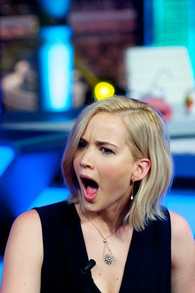 Jennifer Lawrence on @El_Hormiguero