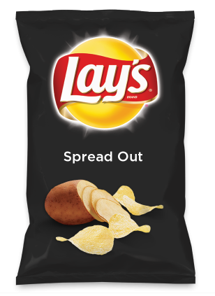 Wouldn't Spread Out be yummy as a chip? Lay's Do Us A Flavor is back, and the search is on for the yummiest flavor idea. Create a flavor, choose a chip and you could win $1 million! https://www.dousaflavor.com See Rules.